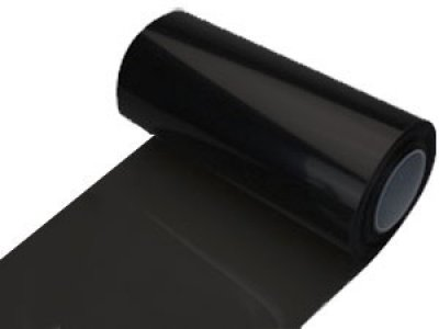 ZEEZ Vinyl - 50% Dark Smoke Black-Out Vinyl Headlight Taillight Tints ()