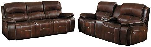 Mojarro 2PC Double Reclining Sofa Love Seat
