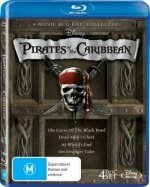 - Pirates of the Caribbean Quadrilogy (Curse of the Black Pearl/Dead Man's Chest/At World's End/On Stranger Tides)