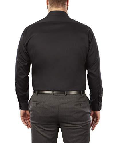 Van Heusen Men's BIG FIT Dress Shirts Flex Collar Solid (Big and Tall) 3
