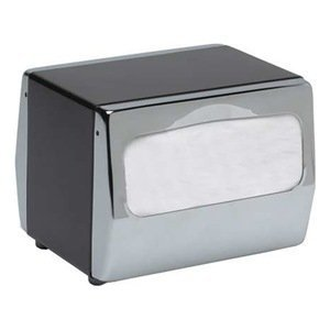 Steel, Color Black, Chrome, 170, Dispenser