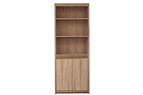 Urbangreen TH44CUnf Thompson Bookcase with Pullout Tray in Cherry, Unfinished