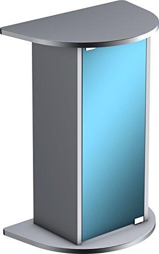 Tetra Aquarienunterschrank 20/30 Liter anthrazit (Unterschrank speziell für Tetra AquaArt Aquarien Explorer Line mit gewölbter Frontscheibe)