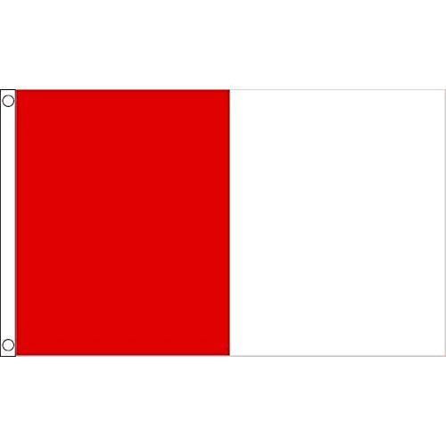 Bandiera Rossa E Bianca 90 x 150 cm AZ FLAG Bandiera Rosso E Bianco 150x90cm