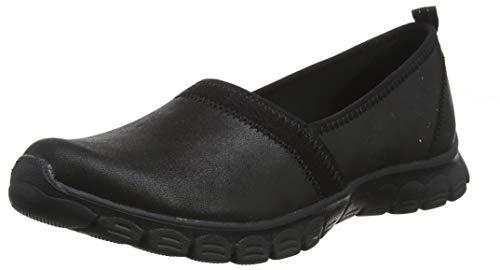 Skechers EZ Flex 3.0 Songful Womens Slip On Sneakers Black 7.5