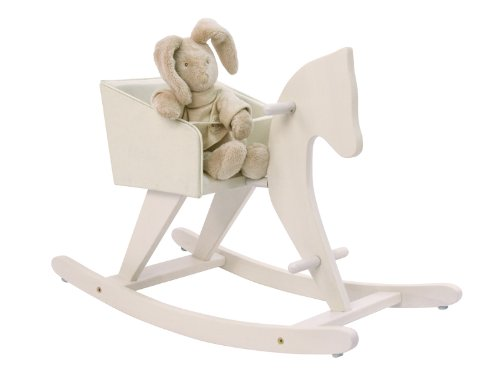 Moulin Roty Jouets D'Hier White Rocking Horse