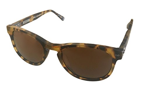 John Varvatos Men's V774 Round Polarized Sunglasses,Tokyo Tortoise,51 - Varvatos John Men's Sunglasses