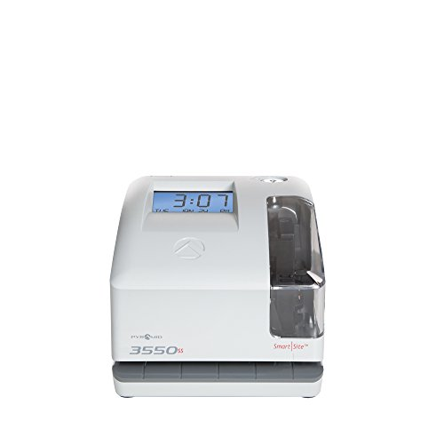 Pyramid 3550ss SmartSite Time Clock and Document Stamp - Made in USA by Pyramid Time Systems (Image #8)
