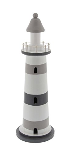 Deco 79 98867 Wooden Lighthouse Sculpture, 17