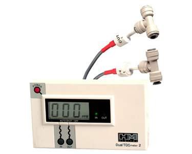 HM Digital (DM-2) Industrial Inline Dual TDS Meter/Monitor; 1/4