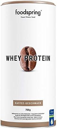 [Gesponsert]foodspring Whey Protein Pulver, 750g, Vanille, Eiweißpulver zum Muskelaufbau, Hergestellt in Deutschland