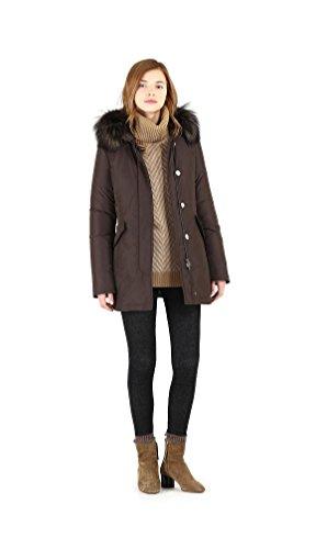 Coffee Parka Wwcps2510 Arctic Woolrich Fox Giubbino 17 18 7268 Sm20 Donna Fw W's Luxury nqg116xvwZ