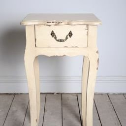 Shabby chic bedside table cabinet antique vintage lamp table wooden shabby chic bedside table cabinet antique vintage lamp table wooden distressed finish beige red aloadofball Images