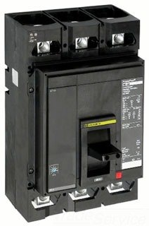 SCHNEIDER ELECTRIC Molded Case 600-Volt 600-Amp MGL36600 Miniature Circuit Breaker 480Y/277V 25A