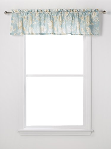 (C&F Home Natural Shell Standard Valance 72 x 15.5 inch)