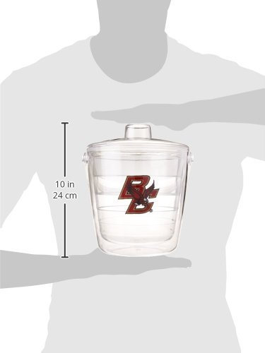 Tervis 1053337 Boston College Eagles Logo Ice Bucket with Emblem and Clear Lid 87oz Ice Bucket, Clear by Tervis (Image #2)
