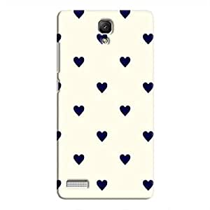 Cover It Up - Purple Hearts Redmi Note 4GHard Case