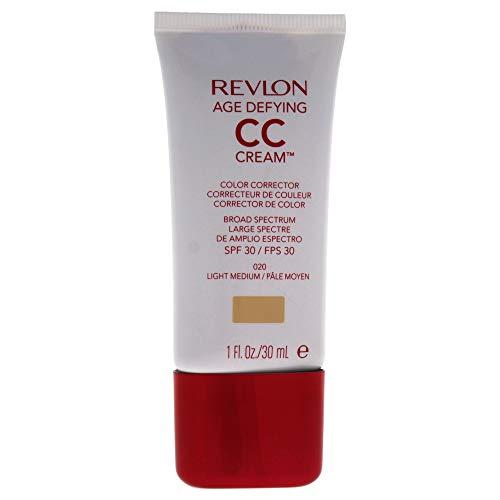 Revlon Age Defying CC Cream, Light Medium/020, 1 Ounce
