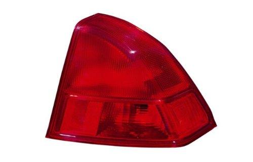 Civic Coupe Tyc Honda Tail - HONDA CIVIC (SEDAN | COUPE) TAIL LIGHT RIGHT (PASSENGER SIDE)(SD/ON BODY) 2001-2002
