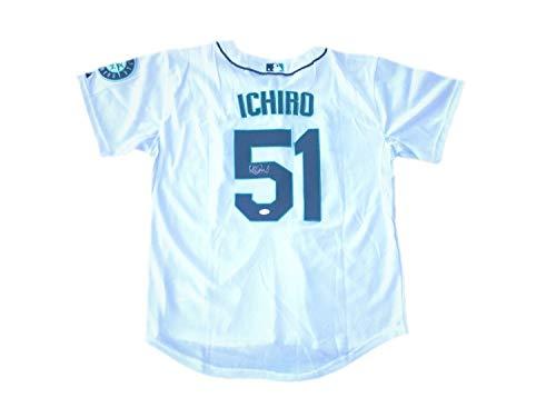 Ichiro Suzuki Seattle Mariners Home Autographed Signed Jersey (Size XL) - JSA Certified Memorabilia