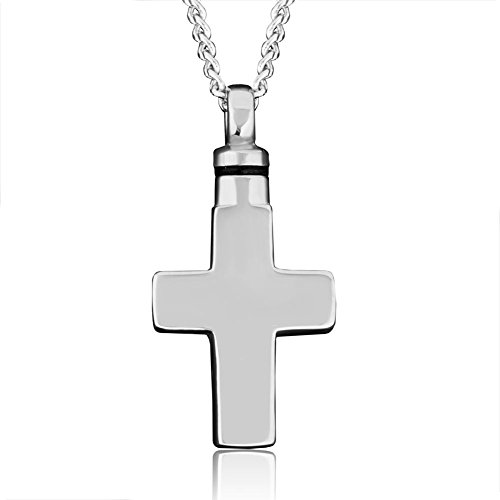 CharmsStory Cremation Necklace Stainless Memorial