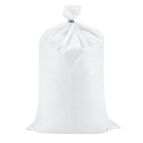 Sand Bags - Empty White Woven Polypropylene Bags w/ Ties - Pack of 20 Keep Fresh Bags 4331907732