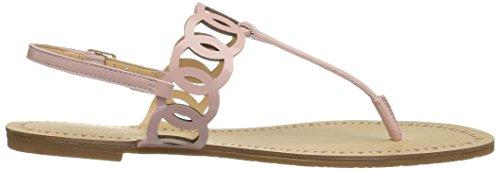 Daya Par Zendaya Womens Mallory Sandale Plat Blush