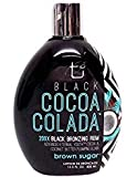 Best Bronzing Tanning Bed Lotions - Brown Sugar BLACK COCOA COLADA Bronzing Rum Review