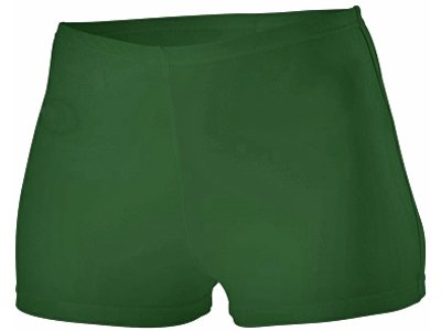 Alleson Cheer Boy Cut Brief, Dark Green, Youth Small by Alleson Athletic