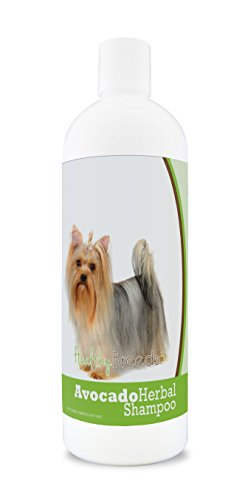 Healthy Breeds Herbal Avocado Dog Shampoo for Dry Itchy Skin for Yorkshire Terrier  - OVER 200 BREEDS - For Dogs with Allergies or Sensitive Skin - 16 oz