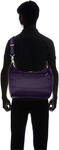 PacSafe Women's Citysafe Cs200 Anti-Theft Handbag Travel Cross-Body Bag, Mulberry, One Size by Pacsafe (Image #10)