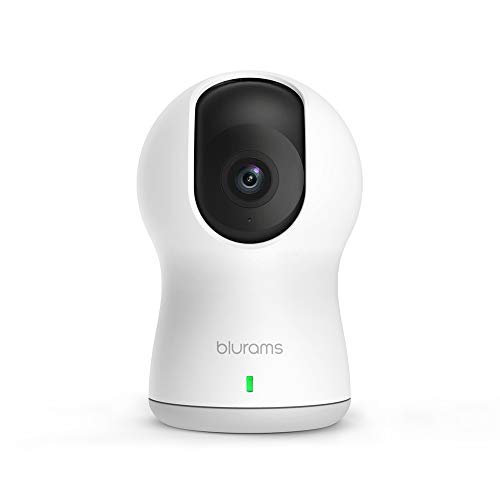 blurams Dome Pro1080p,Smart AI Home Security Camera, Pan/Tilt/Zoom WiFi Indoor Surveillance System with Enhanced Events Detection,Activity Zones / Person Alerts, Night Vision/ Optional Cloud Service