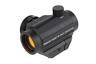 Primary Arms Micro Red Dot Sight w/ Removable Base - 2 MOA Dot MD-RBGII from Primary Arms