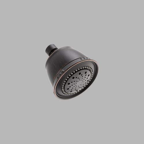 Delta 75566SN 5-Setting Traditional Shower Head Satin Nickel