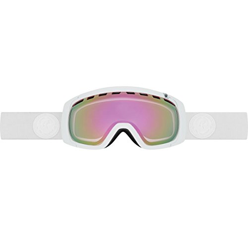 Dragon Alliance Rogue Snow Goggles-Whiteout; Pink Ion & - White Sunglasses Dragon