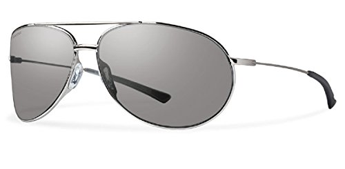 Smith Optics Rockford 66 mm Polarized Platinum - Rockford Sunglasses Smith