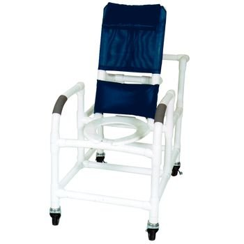 Wheeled Reclining Shower (Sammons Preston Wheeled Reclining Shower/Commode Chair (With Pail  ))