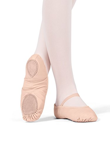Adult Neoprene Arch Leather Split-Sole Ballet Shoes,T2800PNK02.0M,Pink,02.0M by Theatricals