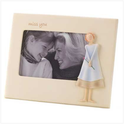 Amazon.com - Miss You Photo Frame - Nursery Picture Frames