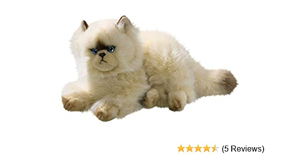 Cat, Himalayan Chocolate Point, Persian 12 inches, 30cm, Plush Toy, Soft Toy, Stuffed Animal 3201