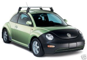 1998-2010 Volkswagen New Beetle Base Carrier Bars Cross Bars GENUINE OEM NEW (Base Beetle Volkswagen)