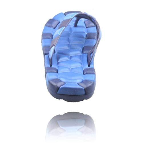 Antideslizantes Hombres color 42 Tamaño Sandalias Playa Piscina De Fuxitoggo Blando Antidesgaste 41 Fondo Clip Azul Zapatillas Para U0qWwT