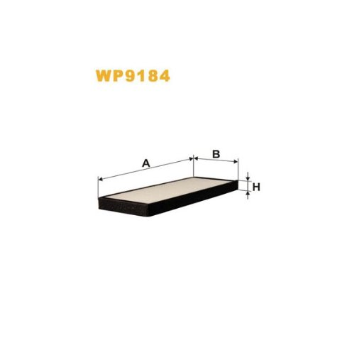 Wix Filters WP9184 Cabin Air Filter: