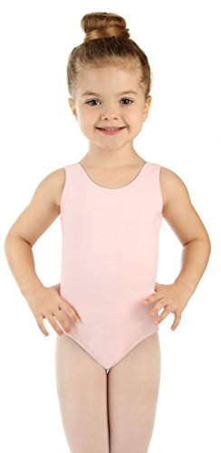 Elowel Girls' Tank Leotard Baby Pink (Size 6-8) by Elowel Pajamas