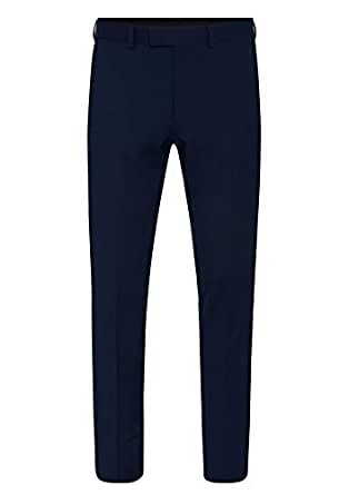 Tarocash Men's Louis Stretch Pant Navy 33 Regular Fit Sizes 30-46 for Going Out Smart Occasionwear Trousers