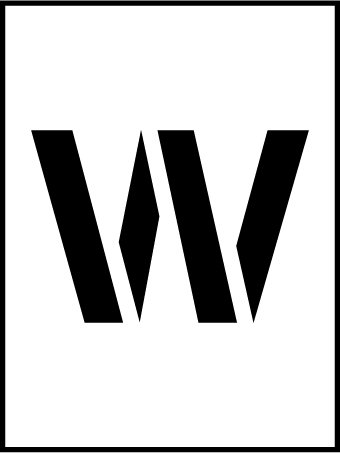 NMC PMC36-W 36''Stencil Letter ''W'', Pack of 5 pcs by National Marker