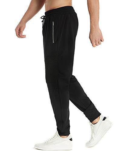 Survêtement Homme De Fit Slim Pants Sweat Pantalons Modchok Sport Noir 1 Bas Casual Jogging FBdqR0w
