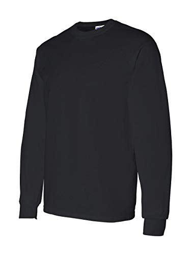 Gildan Mens 5.3 oz. Heavy Cotton Long-Sleeve T-Shirt G540 -BLACK M