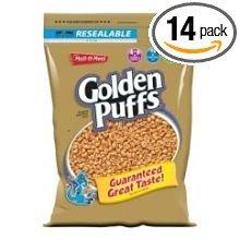 Malt-O-Meal Golden Puffs Cereal 14.5 oz (Pack of 14) ()