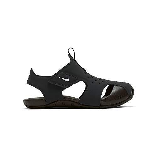 Nike Toddler Kid's Sunray Protect 2 Sandal, Black/White, 4 M US Toddler